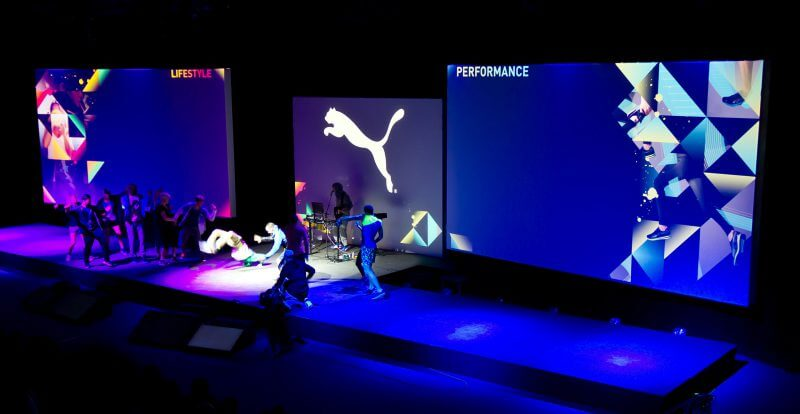 Puma Fashion Stage Animation